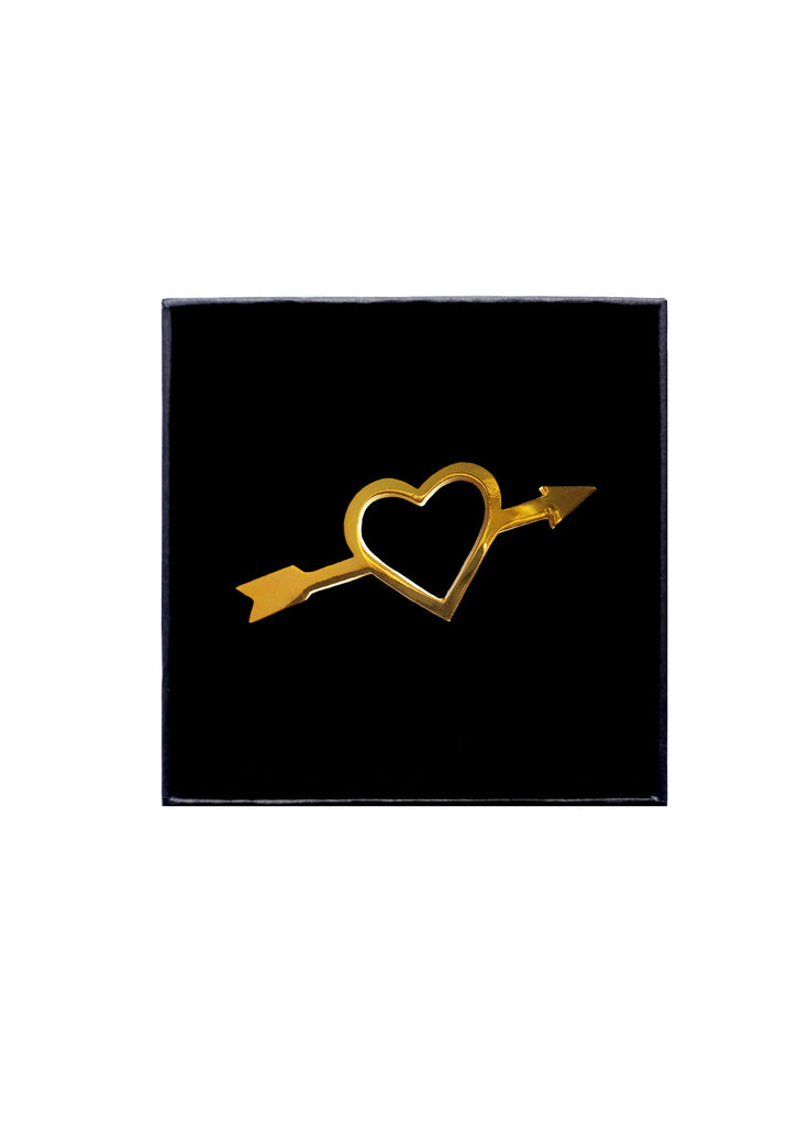 Gold Heartbreaker Pin