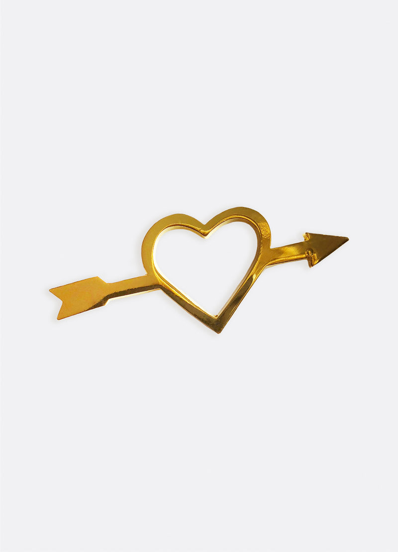 Gold Heartbreaker Pin | Georgia Perry