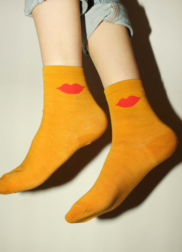 Lips Socks | Georgia Perry