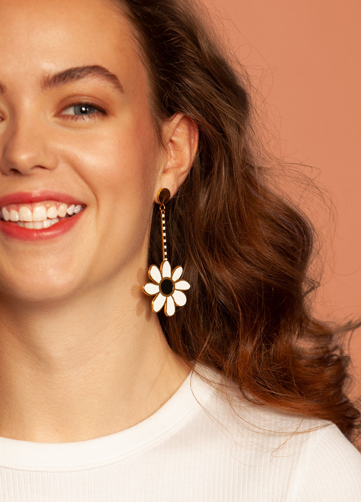 Memphis Petal Earrings