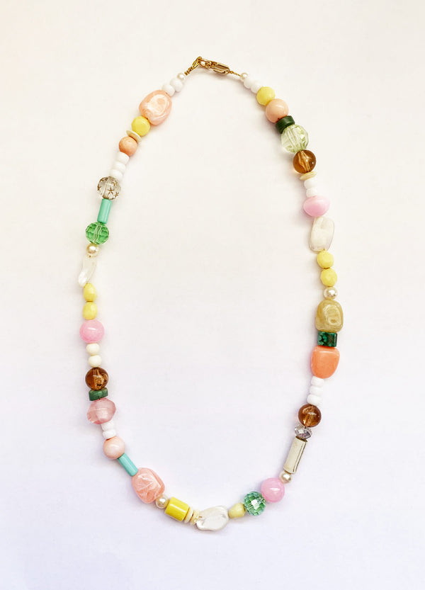 Peach Snap Necklace