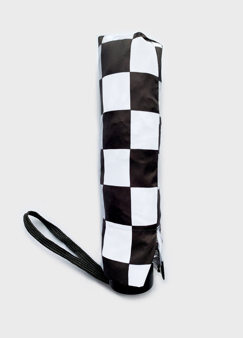 Checkers Umbrella