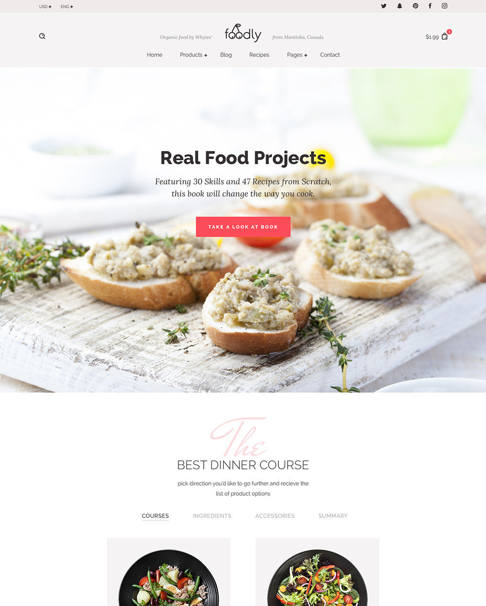 Homepage - Product Builder
