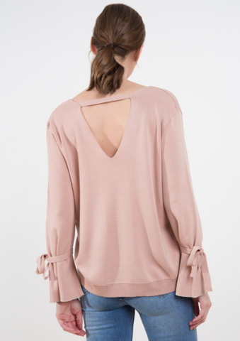 Pull Laclochette rose nude An'ge Paris