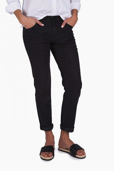 Jean boyfriend noir Nvy Denim Kate