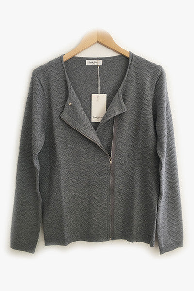 Cardigan gris Galina Andy & Lucy