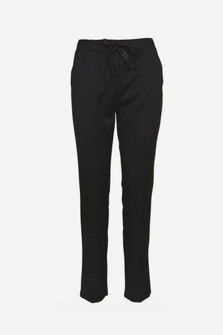Pantalon noir NOEUD Grace & Mila