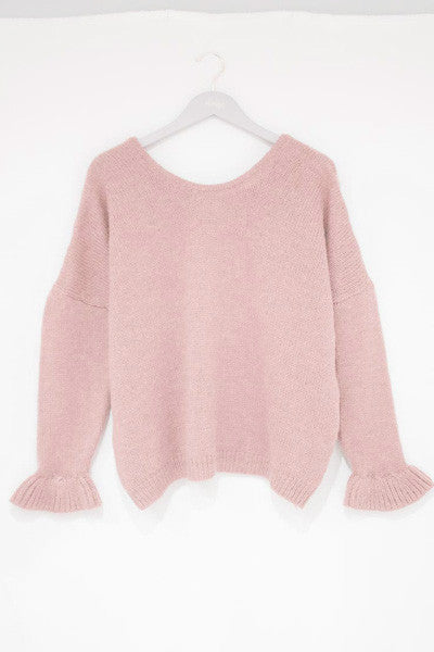 Pull Loulou rose An'ge Paris