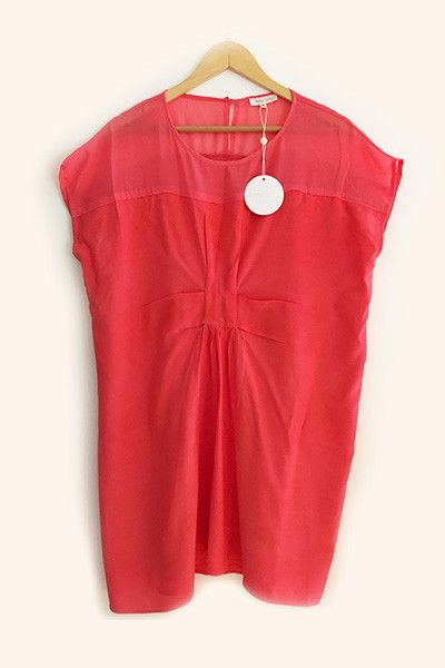 Robe ample corail Amy Lou