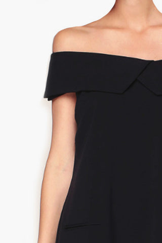 Robe noire off shoulder See U Soon