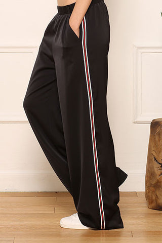 Pantalon fluide et large Carbon Amy Lou