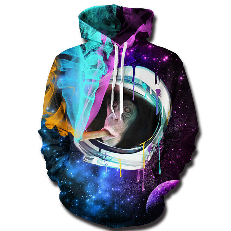 Space Monkey Galaxy Hoodie