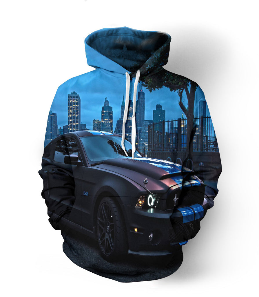 Mustang Midnight Edition Hoodie