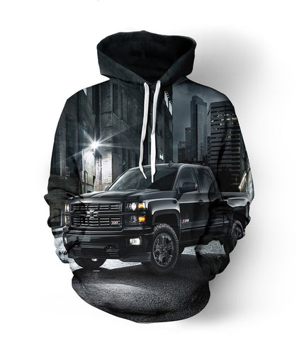 Chevy Truck Midnight Edition Hoodie