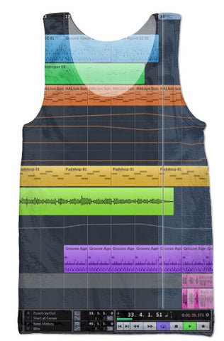 Apparel - Cubase Producer Tank Top
