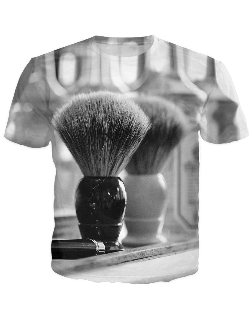 Barber Premium Brush Neck T-shirt
