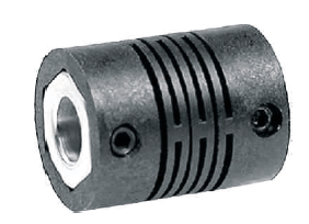 Cross slotted coupling
