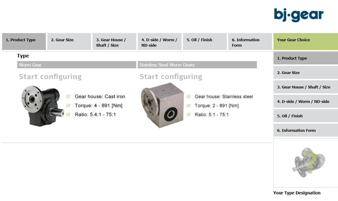 Worm Gearbox Calculator
