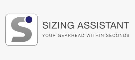 SIZING ASSISTANT – The optimum gearhead