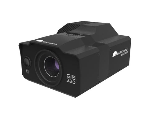 UAV/Drone thermal imaging camera for gas detection