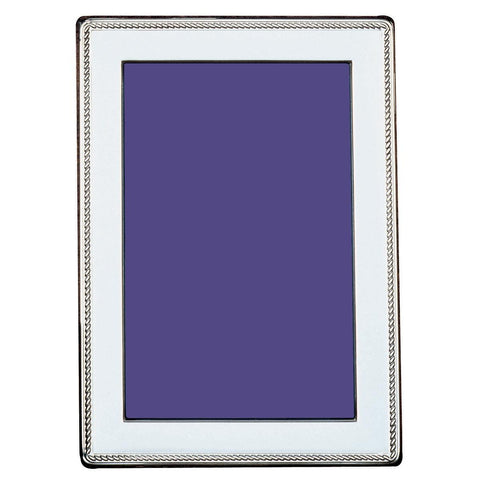 Sterling Silver Photo Frame - Classic Bead Edge