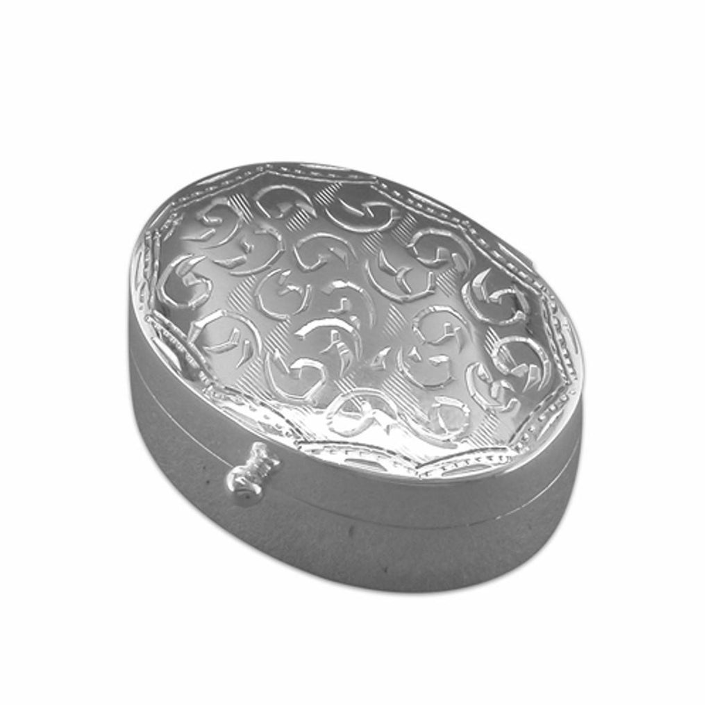 Sterling Silver Pill Box - Mini