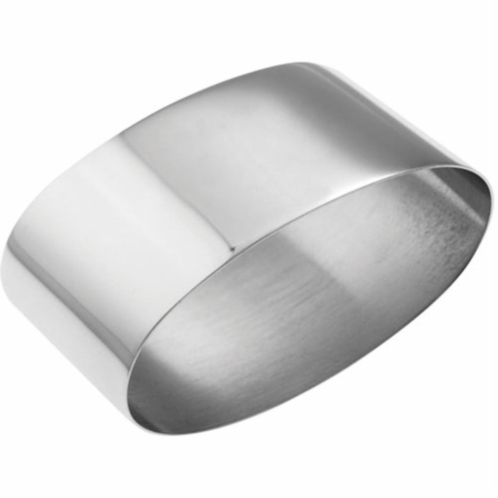 Silver Plated Napkin Ring - Oval