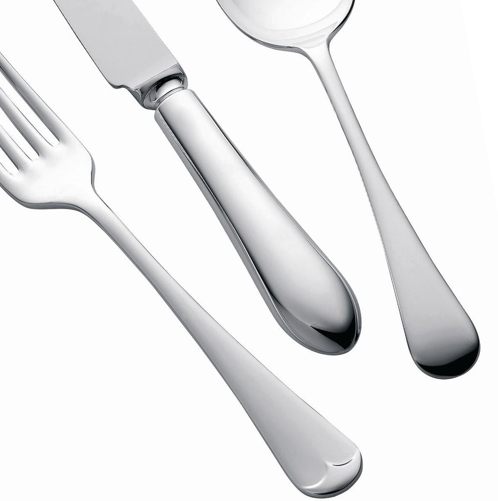 Silver Plated Cutlery Set - 124 Piece - Old English Design