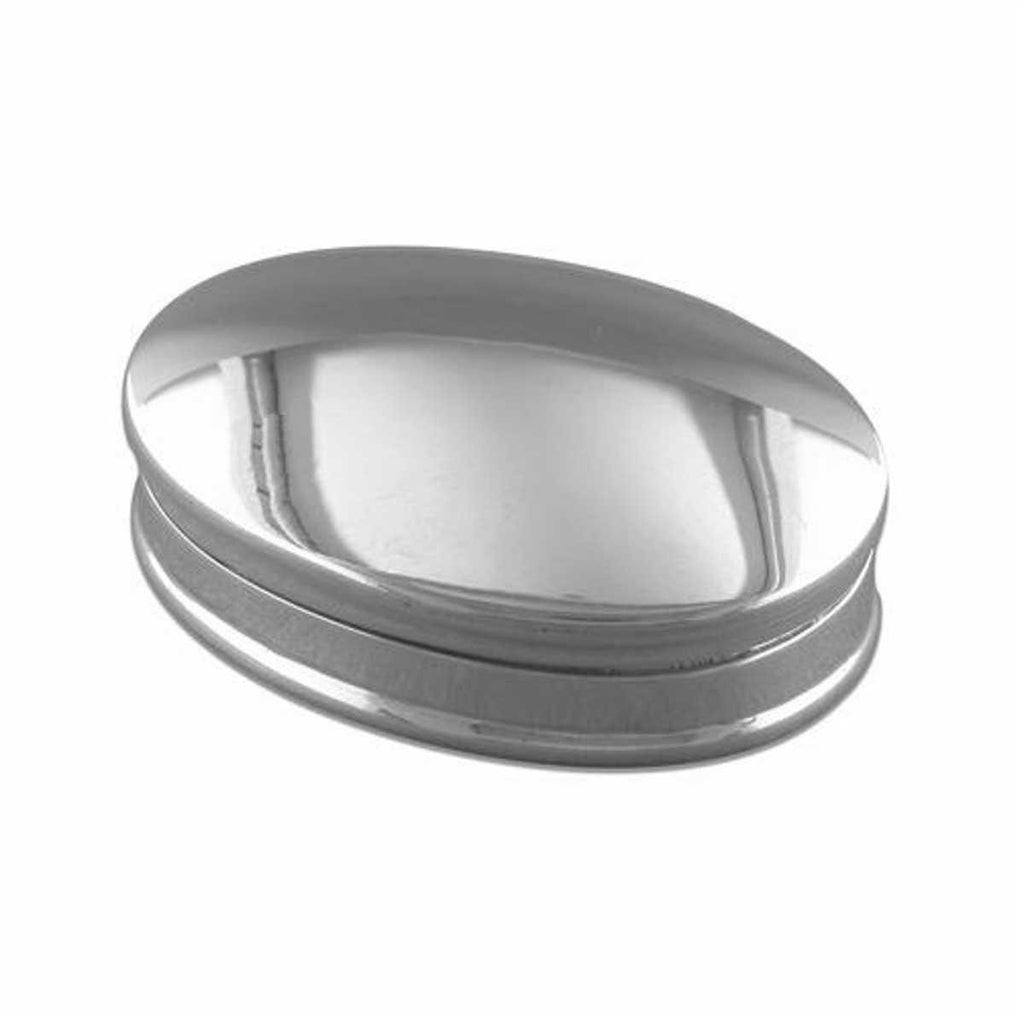 925 Sterling Silver Pill Box - Oval Design