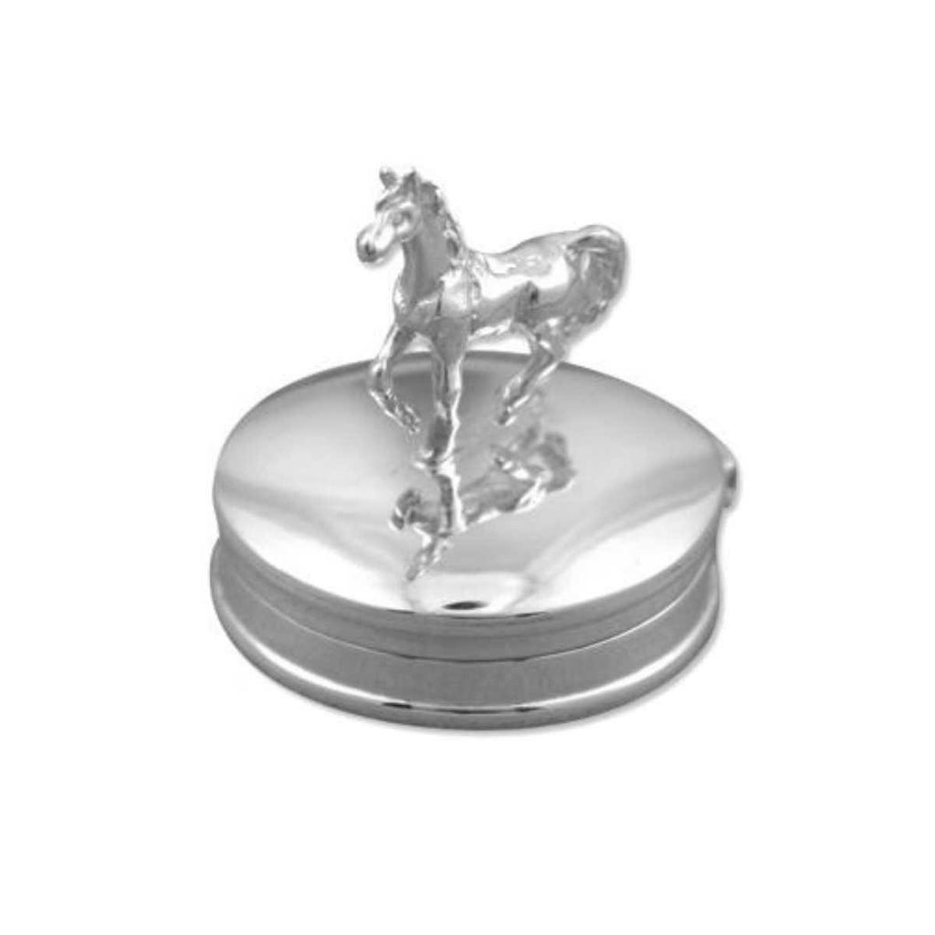 Sterling Silver box with Horse