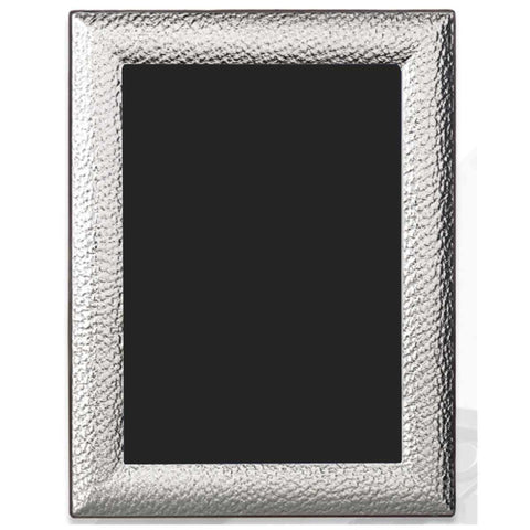 Sterling Silver Photo Frame - Heavy Hammered