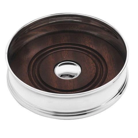 Silver Plated Concave Coaster