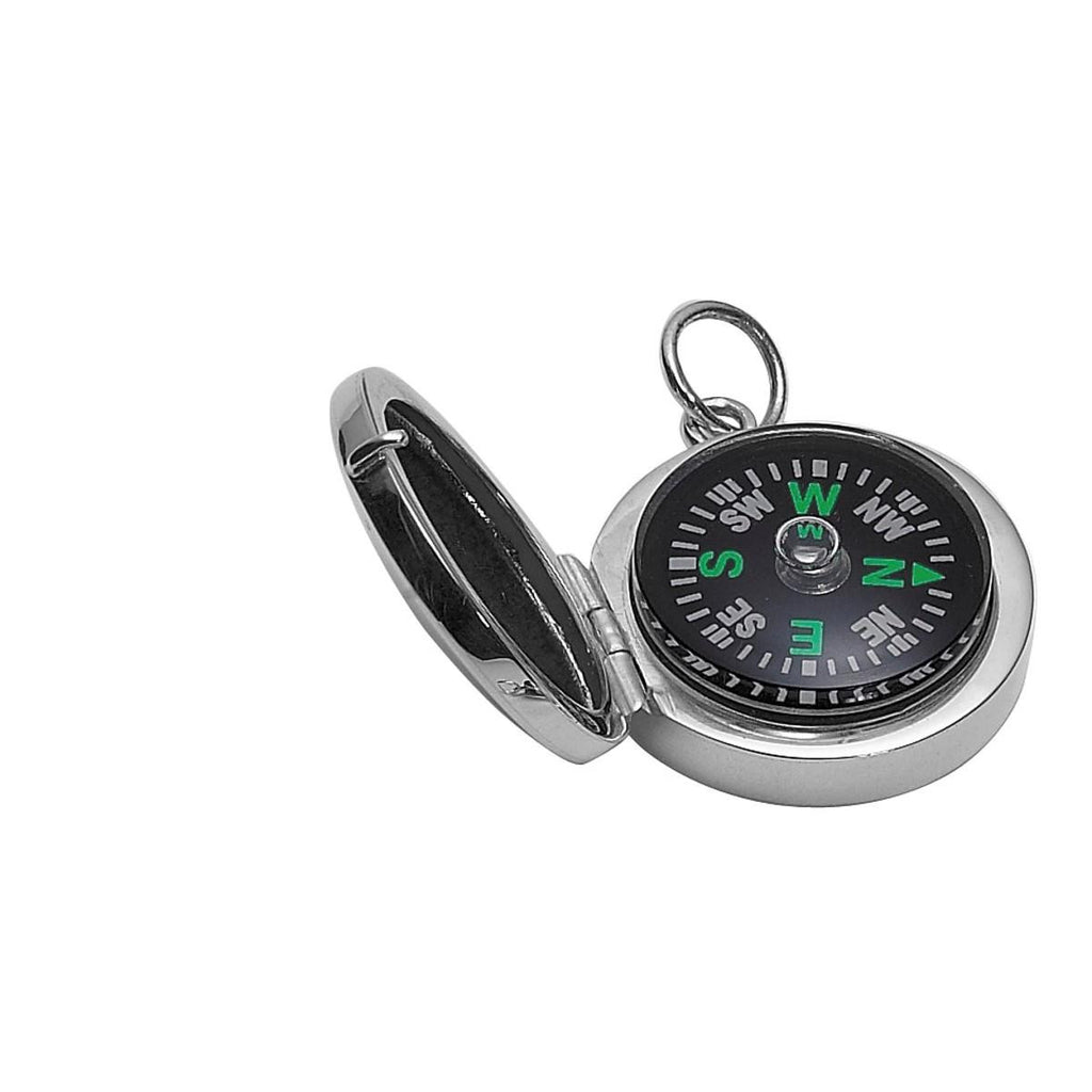 925 Sterling Silver Compass in Case