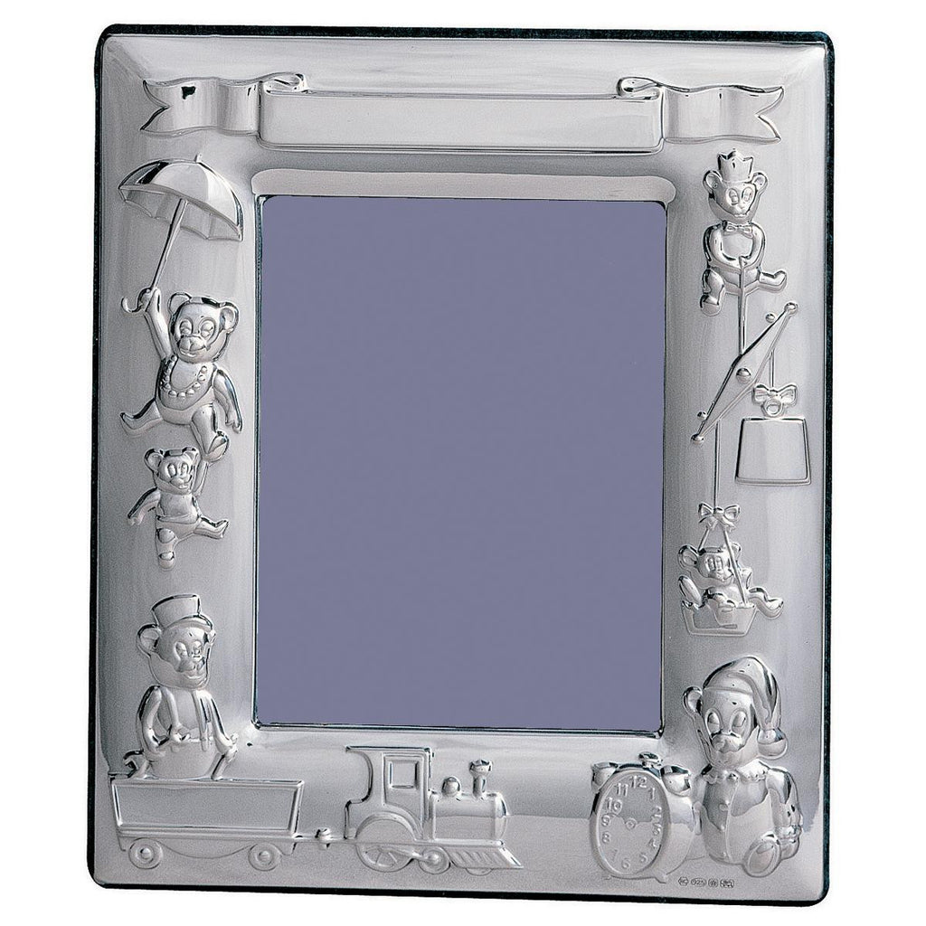 Sterling Silver Baby Photo Frame