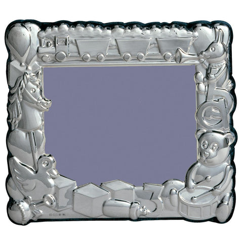 Sterling Silver Baby Photo Frame - Landscape