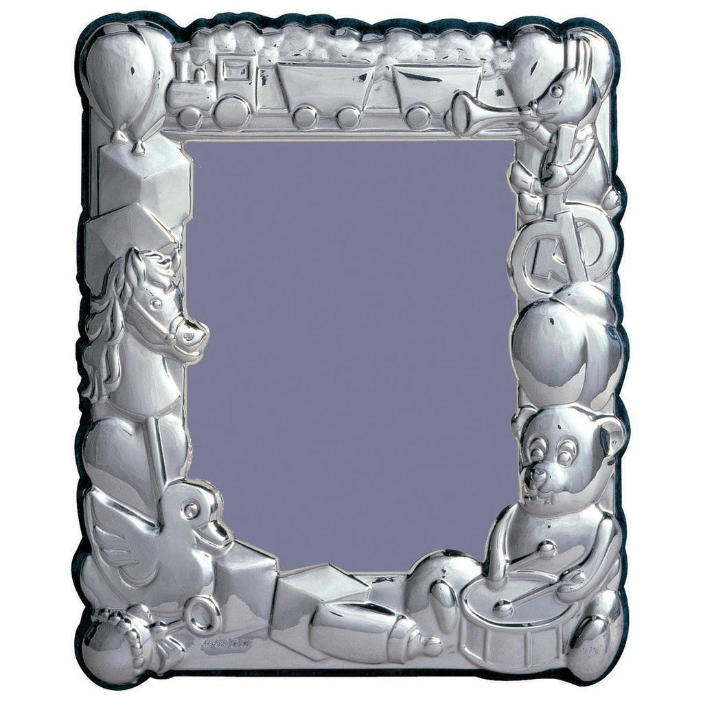 Sterling Silver Baby Photo Frame - 10x8