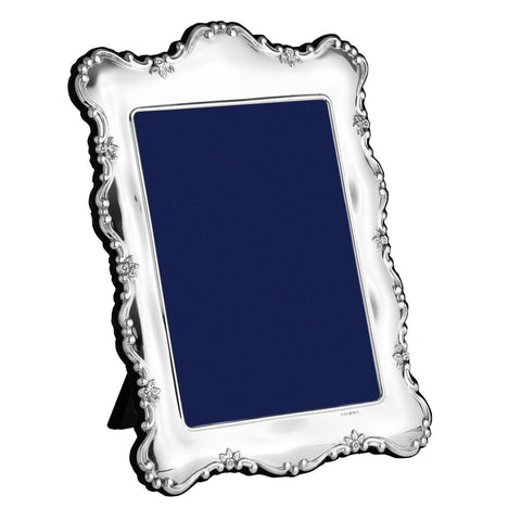 Sterling Silver Portrait Photo Frame - PDR