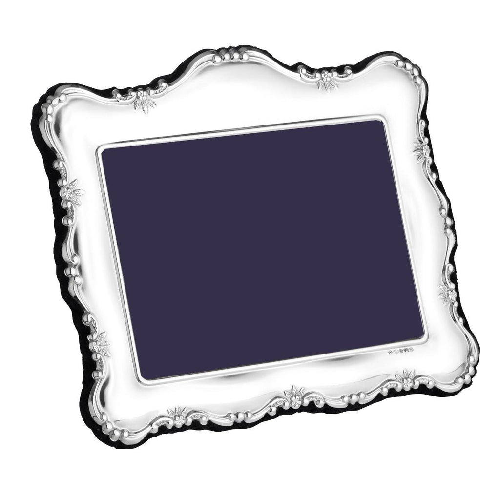 Sterling Silver Photo Frame - Landscape Traditional (PDRL)
