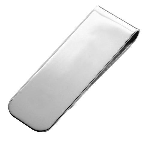 Sterling Silver Money Clip - Small Hallmark