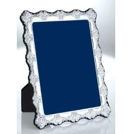 Sterling Silver Photo Frame - Leaf Motif