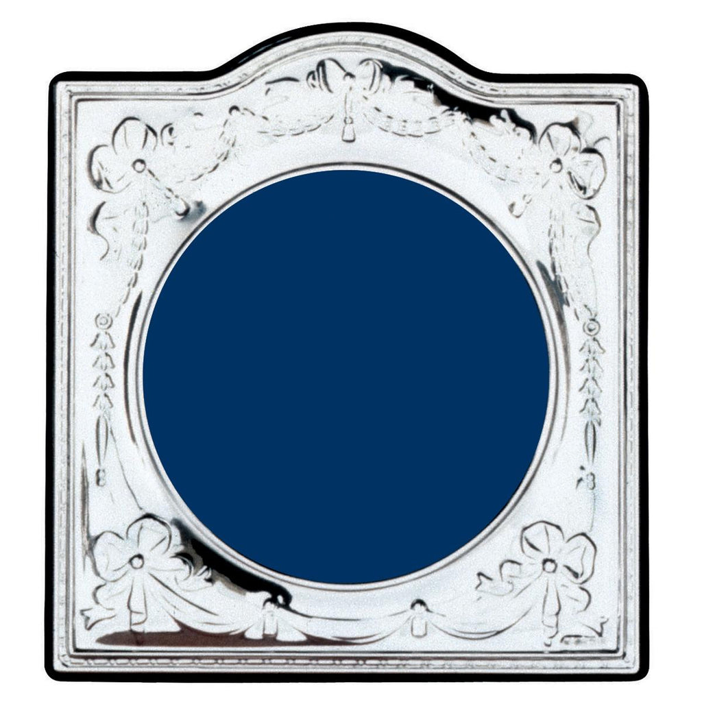 Sterling Silver Circular Photo Frame