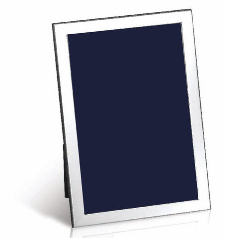 Sterling Silver Photo Frame - Modern Narrow