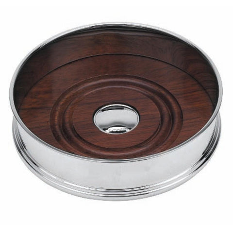 Silver Plated Bottle Coaster - Straight