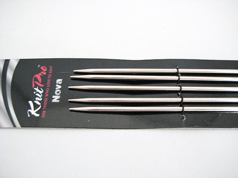 KnitPro - Double Pointed Needles Metal - 20cm