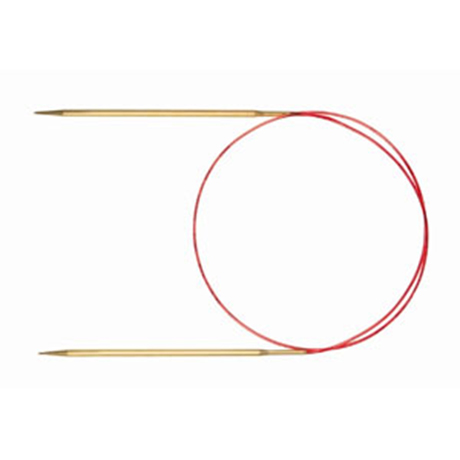 Addi - Lace Fixed Circular Needles Metal - 80cm