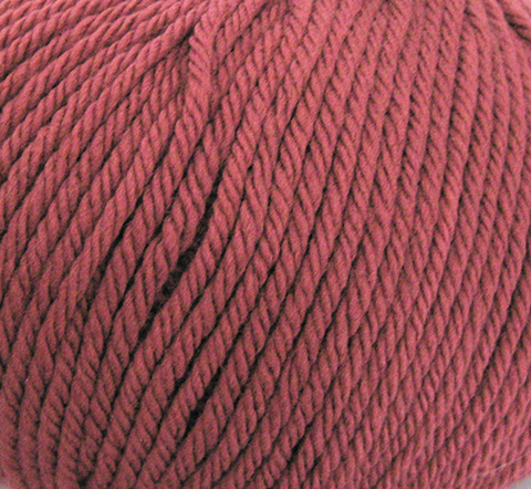 ANTIQUE RED ROWAN PURE WOOL ARAN