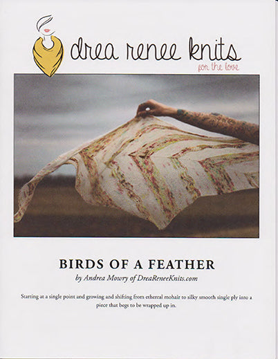 Drea Renee Knits - Pattern - Birds of a Feather Shawl