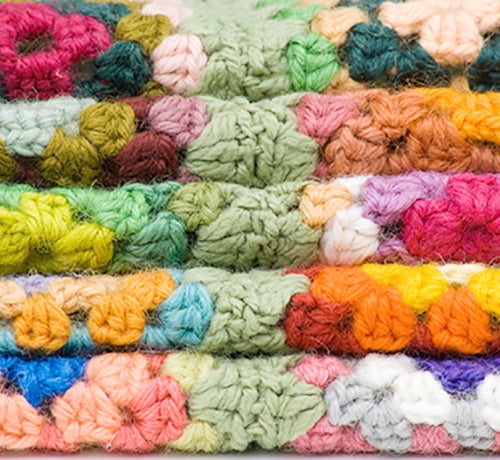 Class - Flowers as Granny Squares