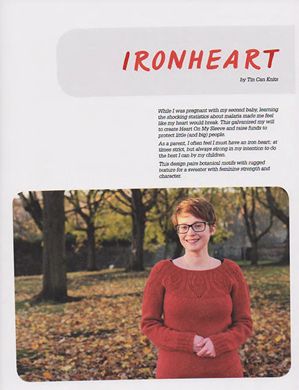 Tin Can Knits - Pattern - Ironheart