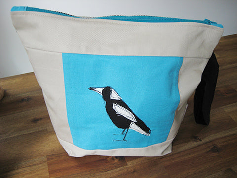 annlemon_art - Project Bag - Magpie